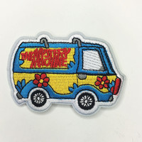 """Mystery Machine"" Iron On Patch"