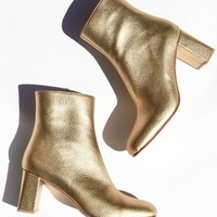 Maryam Nassir Zadeh - Agnes Boot - Gold Metallic