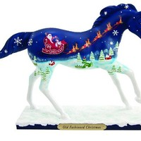 """Trail of Painted Ponies """"Old Fashioned Christmas"""" Figurine"""