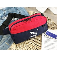 PUMA fashionable patchwork printed Fanny pack hot seller for women's casual cross-breast bag #2