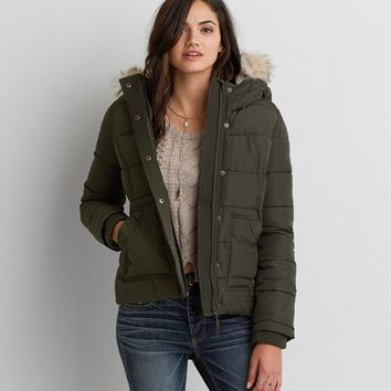 AEO WEEKEND PUFFER JACKET
