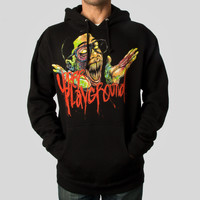Did I Do That Hoodie by Alex Pardee