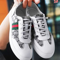 GUCCI New fashion more letter men leisure shoes 1#