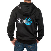Blue Rebel Hooded Track Jacket | Dutch Bros. Coffee - Dutch Wear