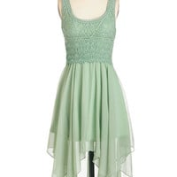 ModCloth Boho Long Sleeveless A-line This Sway And That Dress