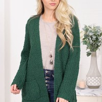 Forest Green Knit Cargidan