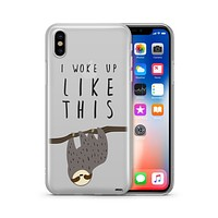 I Woke Up Like This - Clear TPU - iPhone Case