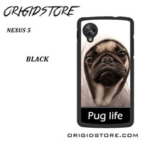 New Design Funny Hilarious Pug Life Parody Fans For Google Nexus 5 Case UY