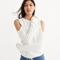 Womens Cold Shoulder Sweater | Womens Tops | Abercrombie.com