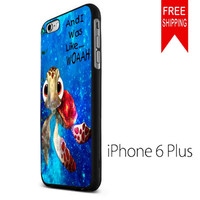 Squirt From Finding Nemo Quote On Nebula FDL iPhone 6 Plus Case