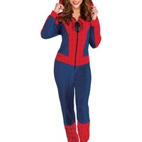 Spidergirl One Piece Costume- Party City