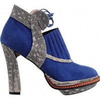 Minnus Blue Suede Shoes | NOT JUST A LABEL