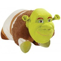 Pillow Pets Authentic DreamWorks Shrek, Folding Plush Pillow- Large