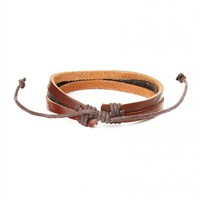 The Idle Man Leather Bracelet - Jewellery - Accessories | Shop for Men's clothing | The Idle Man