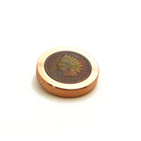 The FlatTop - Copper Indian EDC Spinning Top