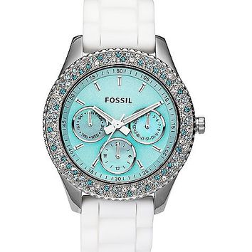 Fossil Stella Silicone Watch - 's    Buckle