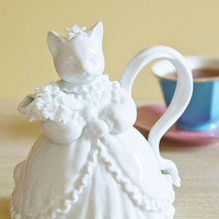 ModCloth French Purr Me a Cup Teapot