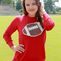 Red Football Thermal