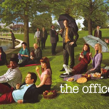 The Office Seurat Parody TV Show Poster 24x36