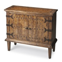 BUTLER CALEDONIA RUSTIC CONSOLE CABINET