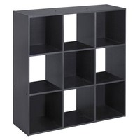 ClosetMaid Cubeicals® 9 Cube Organizer Black Ash