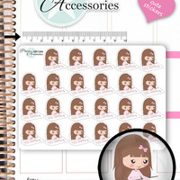 Planner Girl Stickers Planning Girl Stickers Addicted Stickers Cute Stickers Decorative Stickers Functional Stickers Kawaii Stickers NR1344