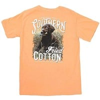Reed Dog Tee Shirt in Melon by Southern Fried Cotton