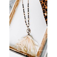 One With Earth Tassel Necklace