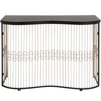 The Beautiful Metal Wood Console Table