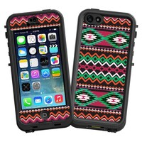 """Exotic Tribal """"Protective Decal Skin"""" for LifeProof nuud iPhone 5 Case"""