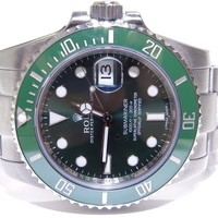 Rolex Hulk Green Submariner Steel Ceramic Mens Watch W/ Card 116610LV