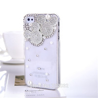 Bling Minnie Mickey Diamond Phone Cover for Samsung A5 A7 A8 S3 S4 S5 mini S7 S6 Edge Note 2 3 4 5 for iPhone 4 5S 5C 6S 7 Plus