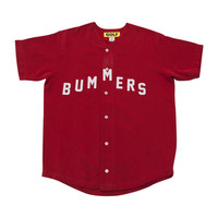 BUMMERS BASEBALL JERSEY RED