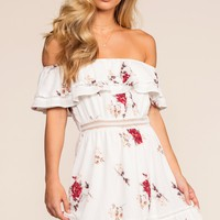 Buttercup Off The Shoulder Dress