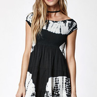 Volcom Smocked Up Tie-Dye Off-The-Shoulder Dress at PacSun.com