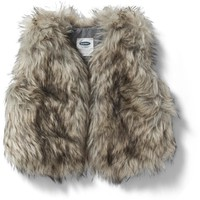 Faux-Fur Vest for Toddler Girls | Old Navy