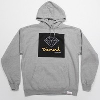 Diamond Supply O.G. Sign Pullover Hoodie in Grey (F2OGSH-GRY)