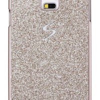 Galaxy S5 Case, I'EXCEL Luxury Beauty Hybrid Hard PC Shiny Bling Glitter Sparkle with Crystal Rhinestone Cover Case for Samsung Galaxy S5 i9600 (Hard Gold)