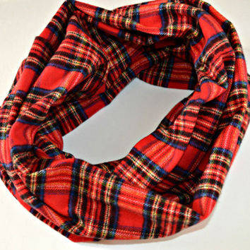 Tartan Plaid scarf, Warm Winter Plaid Scarf, warm scarf