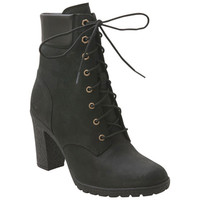Timberland Earthkeepers Glancy 6-Inch Black Black Ankle Boot