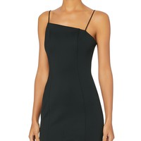 Mallory Asymmetric Mini Dress