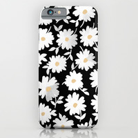 Daisies iPhone & iPod Case by Leah Reena Goren | Society6