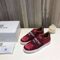 Givenchy Mens Casual leather Shoes Female Flat Shoes fashionable Women Shoes