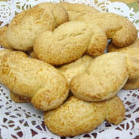 """Wedding Favors, Italian Sorento Biscotti the """"S"""" shaped cookie, favors, Holiday Cookies, Platters, Cookies"""