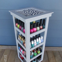 NEW DESIGN 4 Tier Tower Nail Polish Carousel