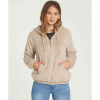 COZY FOR KEEPS FLEECE HOODIE