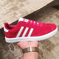 Adidas Fashionable Women Men Casual Sport Running Shoes Sneakers Red