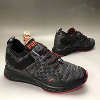 """""""PUMA"""" Fashion Casual Knit Unisex Sneakers Couple Running Shoes"""