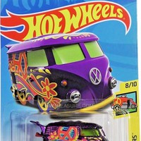 New 2018 Hot Wheels Kool Kombi Treasure Hunt Car HW Art Cars
