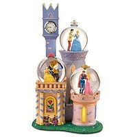 Disney Princess Castle Snowglobe
